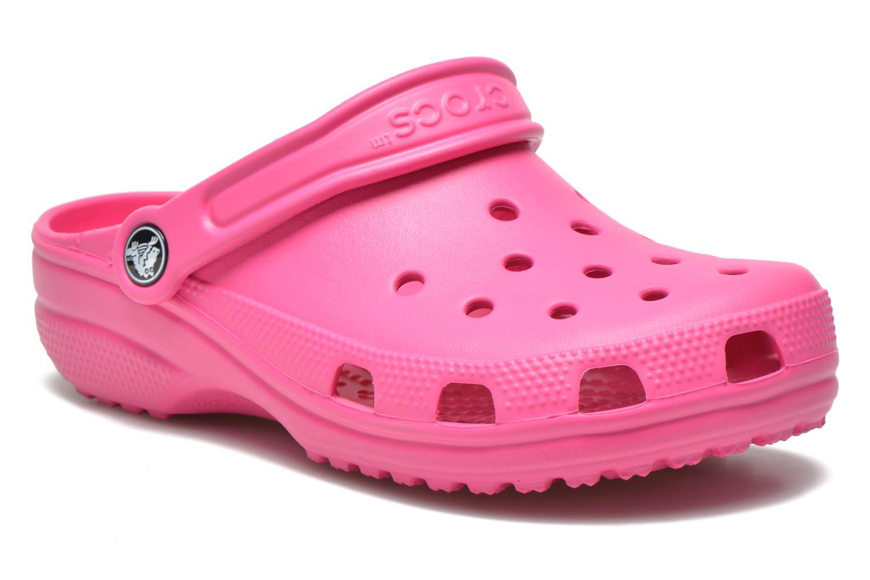 Sandaler Crocs Classic Kids Rosa detaljerad bild på paret