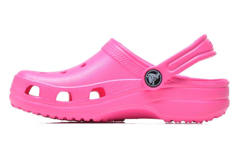 Sandales et nu-pieds Crocs Classic Kids Rose vue face