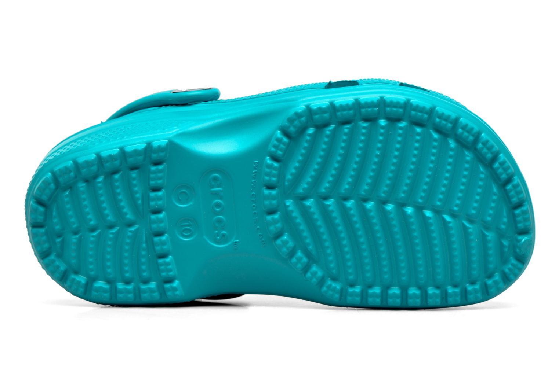 Sandales et nu-pieds Crocs Classic Kids Bleu vue haut