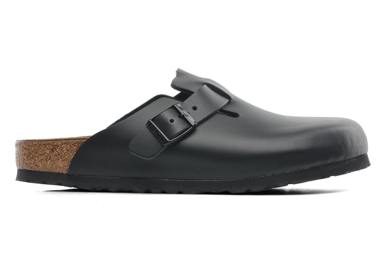 Sandales et nu-pieds Birkenstock Boston Cuir M Noir vue derrière