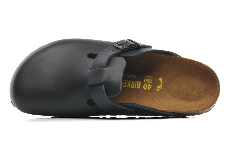 Sandales et nu-pieds Birkenstock Boston Cuir M Noir vue gauche