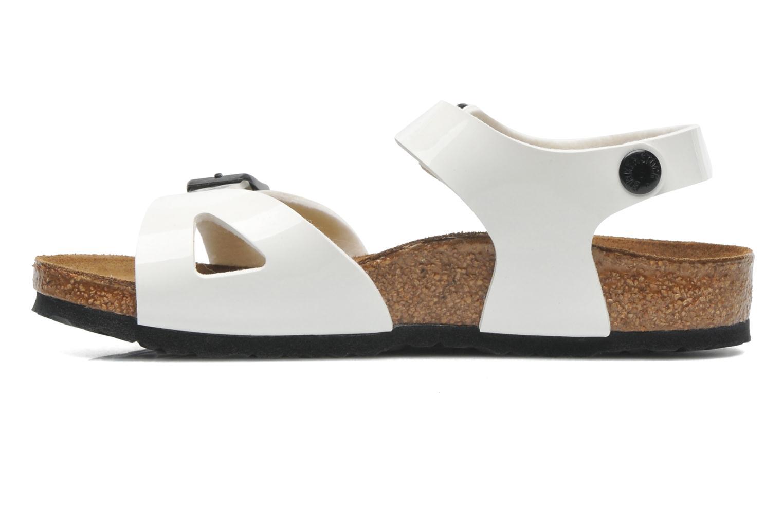 Sandaler Birkenstock Rio (Smal model) Hvid se forfra