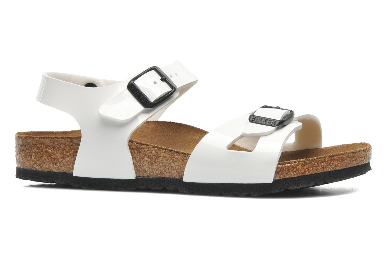 Sandalen Birkenstock Rio weiß ansicht von hinten