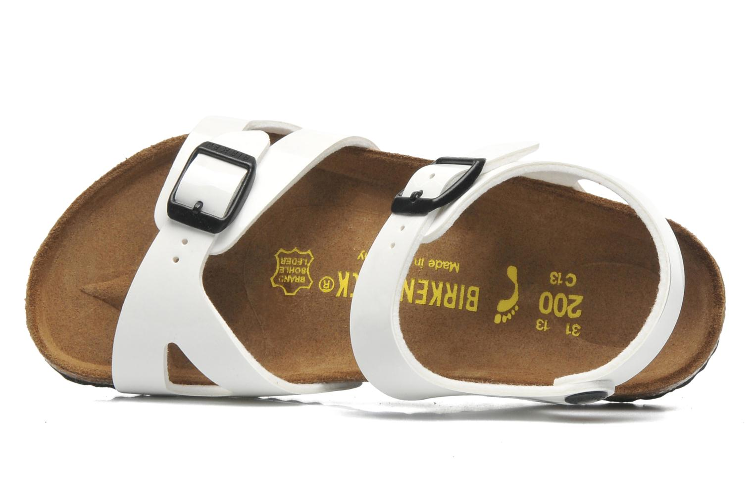 Sandals Birkenstock Rio White view from the left