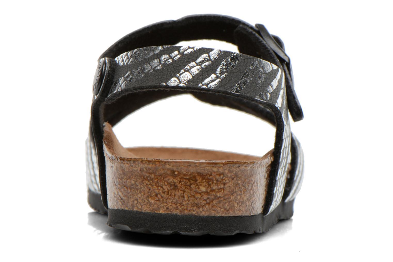 Sandales et nu-pieds Birkenstock Rio Argent vue droite