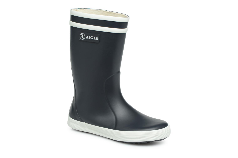 Støvler & gummistøvler Aigle Lolly Pop Blå detaljeret billede af skoene