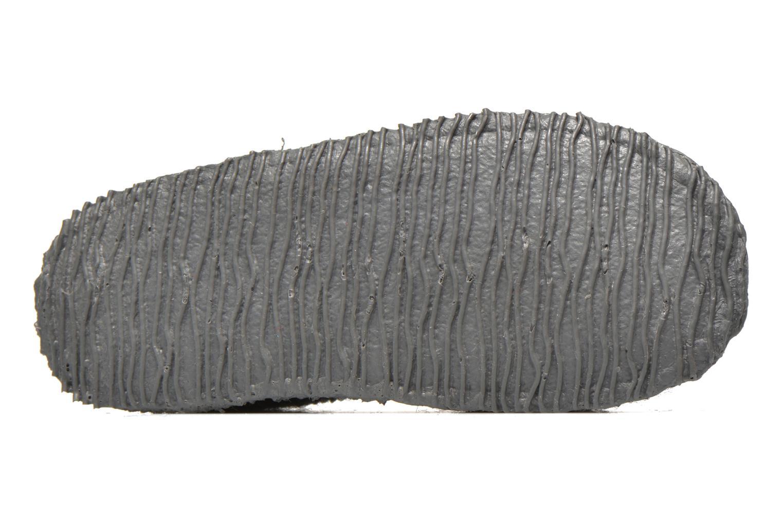 Hausschuhe Giesswein Türnberg grau ansicht von oben