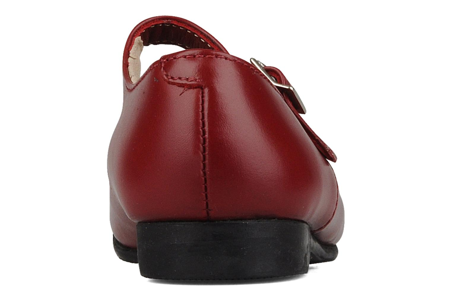 Ballet pumps Start Rite Clare Red view from the right