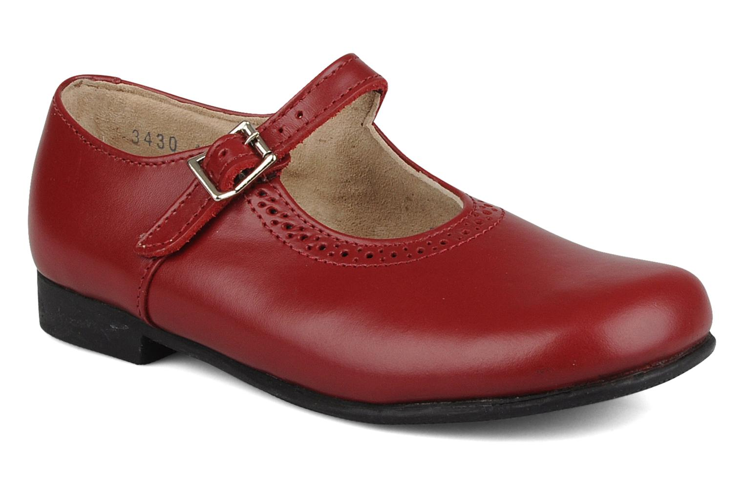 Clare Red Leather