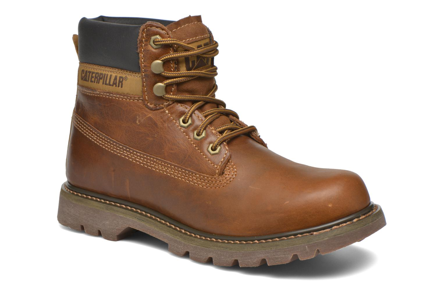 Bottines et boots Caterpillar Colorado Marron vue détail/paire