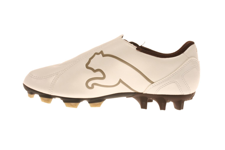 Sportschoenen Puma V5 Big Cat I Fg Jr Wit voorkant