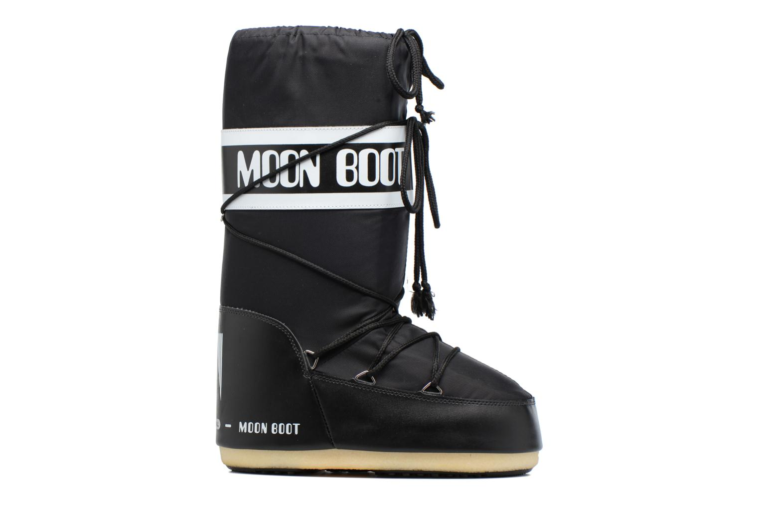 Sport shoes Moon Boot Moon Boot Nylon Black back view