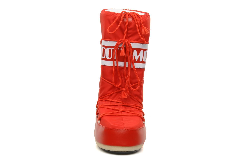 Zapatillas de deporte Moon Boot Moon Boot Nylon Rojo vista del modelo