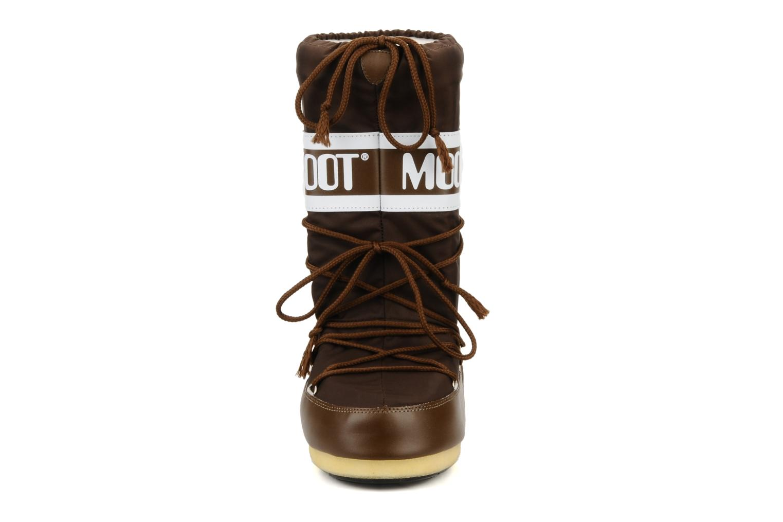 Chaussures de sport Moon Boot Moon Boot Nylon W Marron vue portées chaussures
