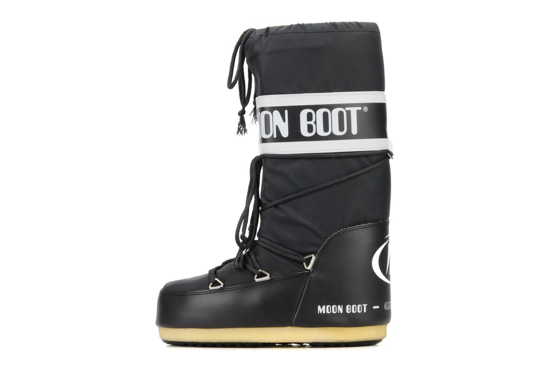Sportschuhe Moon Boot Moon Boot Nylon schwarz ansicht von vorne