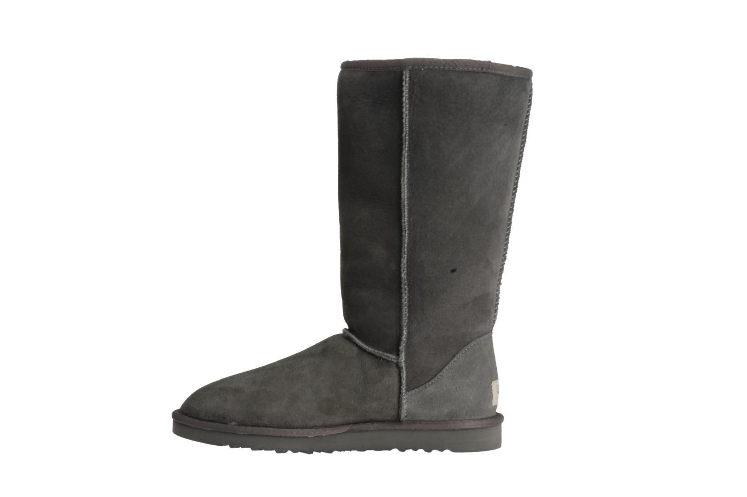 Bottines et boots UGG Classic Tall Gris vue face