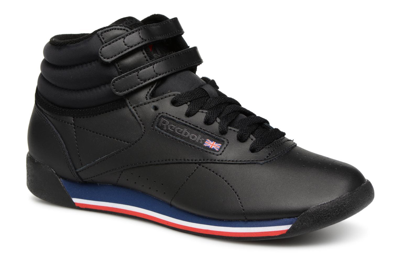 Los últimos zapatos de descuento para hombres y mujeres Reebok Freestyle Hi (Negro) - Deportivas en Más cómodo