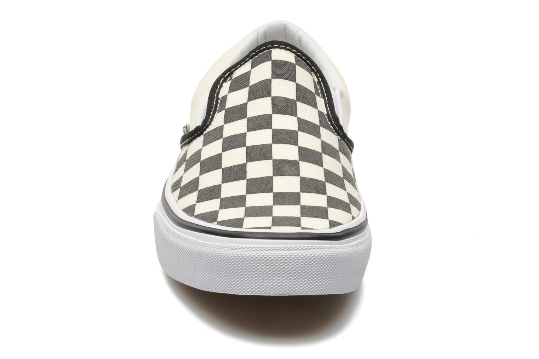 Classic Slip On W Black and White Checker White