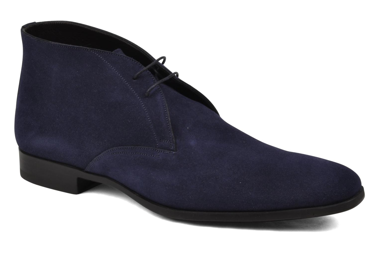 Schnürschuhe Santoni William 7416 blau detaillierte ansicht/modell