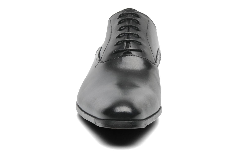 Chaussures à lacets Santoni William 7413 Noir vue portées chaussures