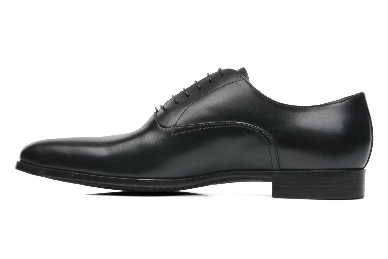 Chaussures à lacets Santoni William 7413 Noir vue face