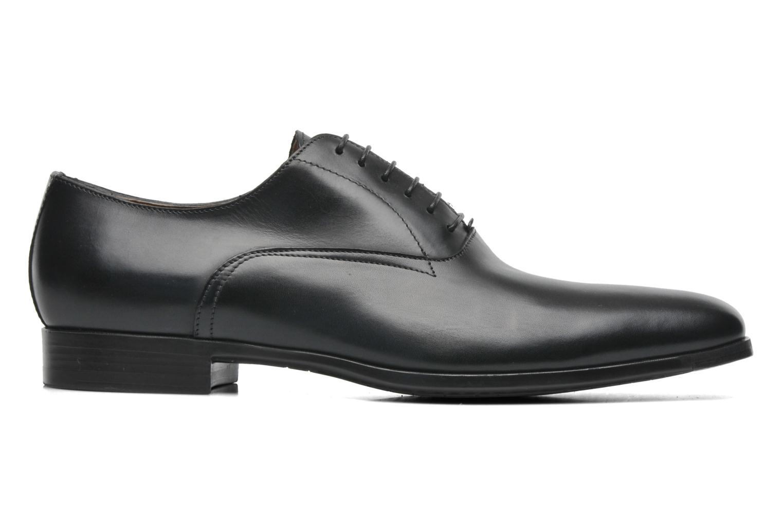 Chaussures à lacets Santoni William 7413 Noir vue derrière