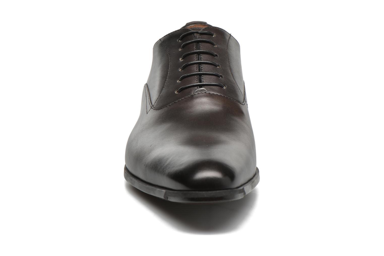 Chaussures à lacets Santoni William 7413 Gris vue portées chaussures