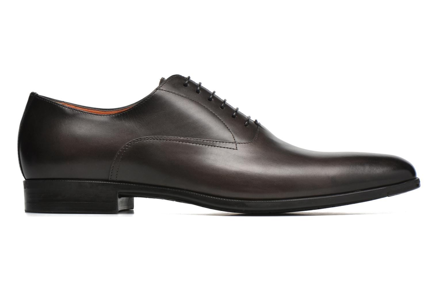 Lace-up shoes Santoni William 7413 Grey back view