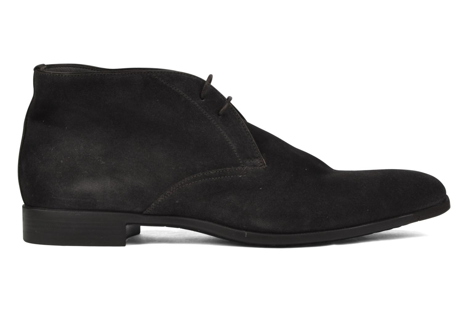 Ankle boots Santoni William 7416 Grey back view