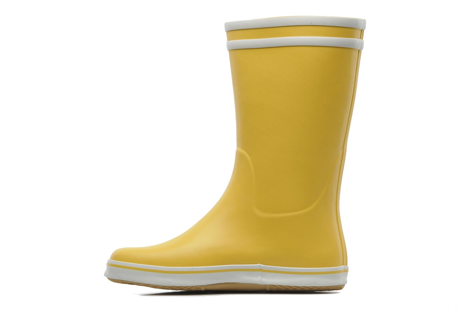 Ankle boots Aigle Malouine Yellow front view