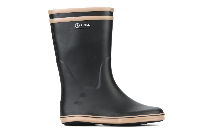 Stiefeletten & Boots Aigle Malouine schwarz ansicht von hinten
