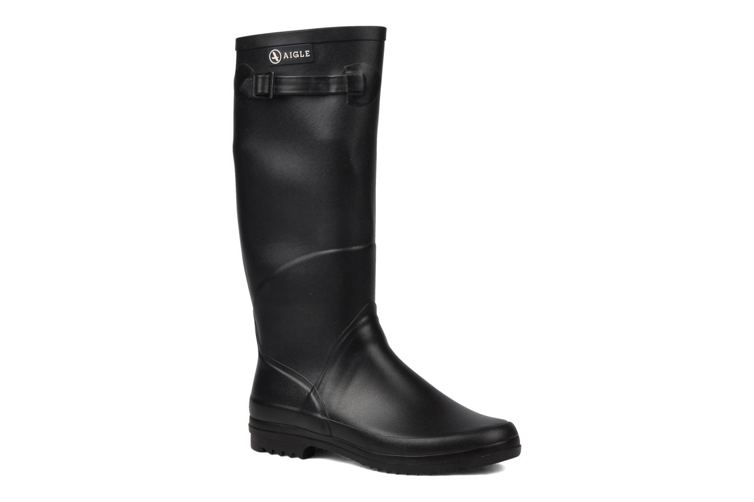 Boots & wellies Aigle Chantebelle Black detailed view/ Pair view