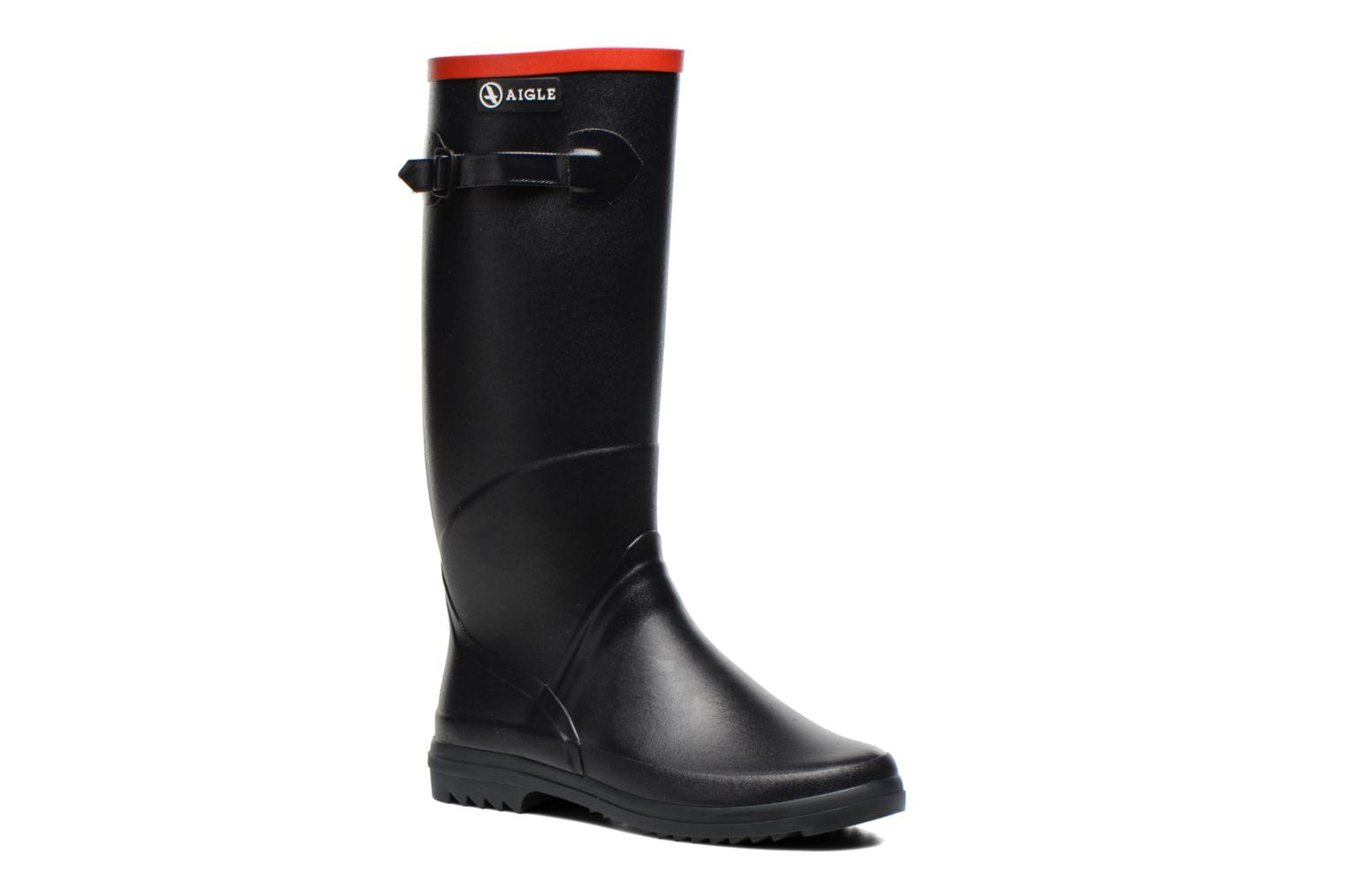 Boots & wellies Aigle Chantebelle Blue detailed view/ Pair view