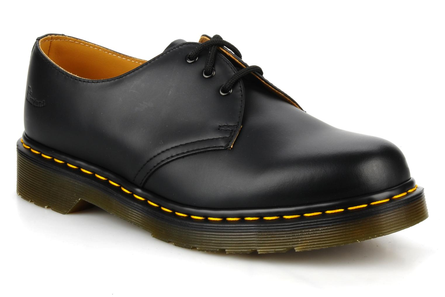 Lace-up shoes DR. Martens 1461 59 Black detailed view/ Pair view