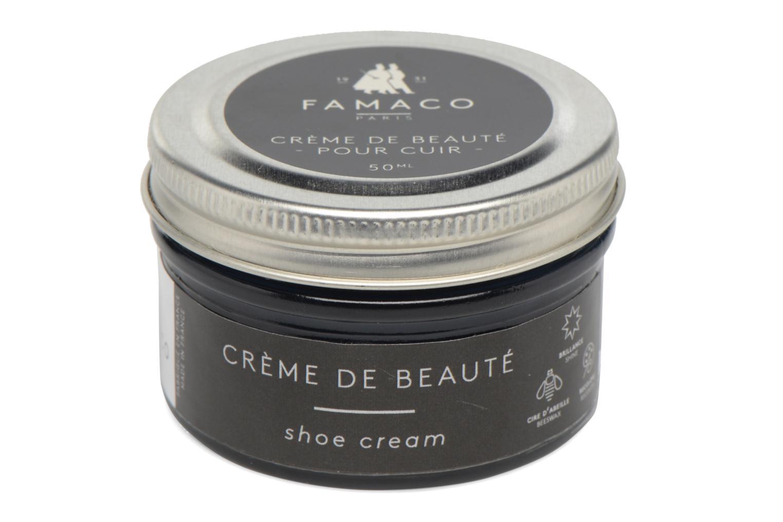 Produits d'entretien Famaco Cirage crème de beauté cuir 50 Ml Bleu vue portées chaussures