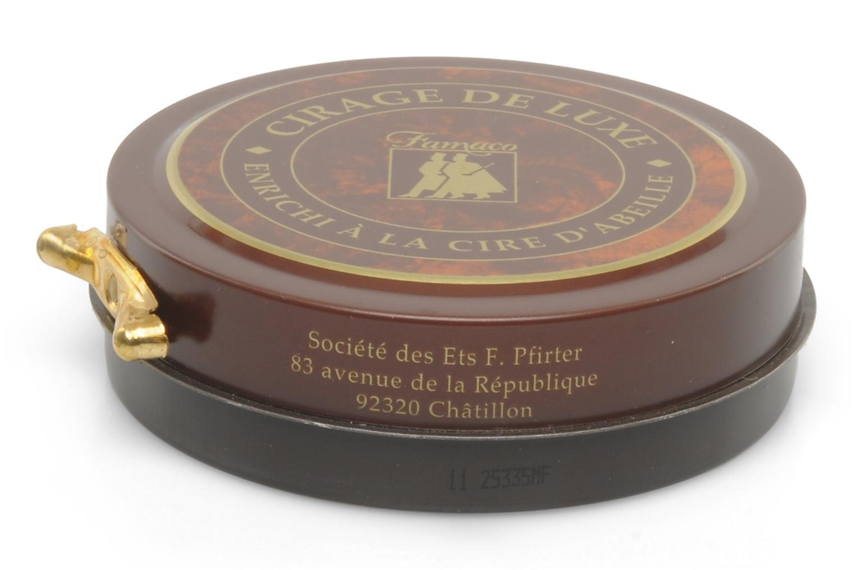 Luxus-Schuhcreme all-in-one (Reinigung, Pflege, Glanzeffekt) Marron foncé