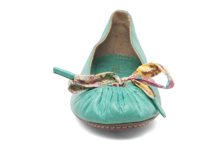 Ballet pumps Maloles Zoe Green model view