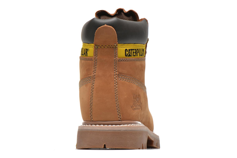 Boots en enkellaarsjes Caterpillar Colorado Beige rechts
