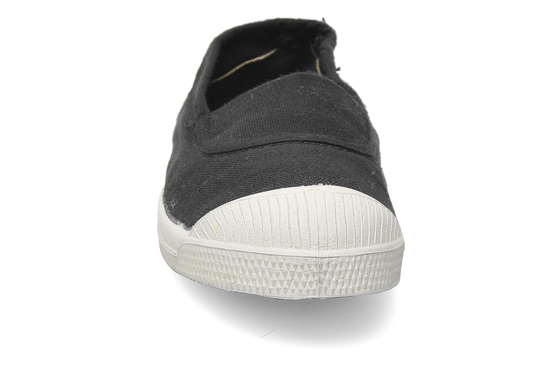 Ballerines Bensimon Tennis Elastique E Gris vue portées chaussures