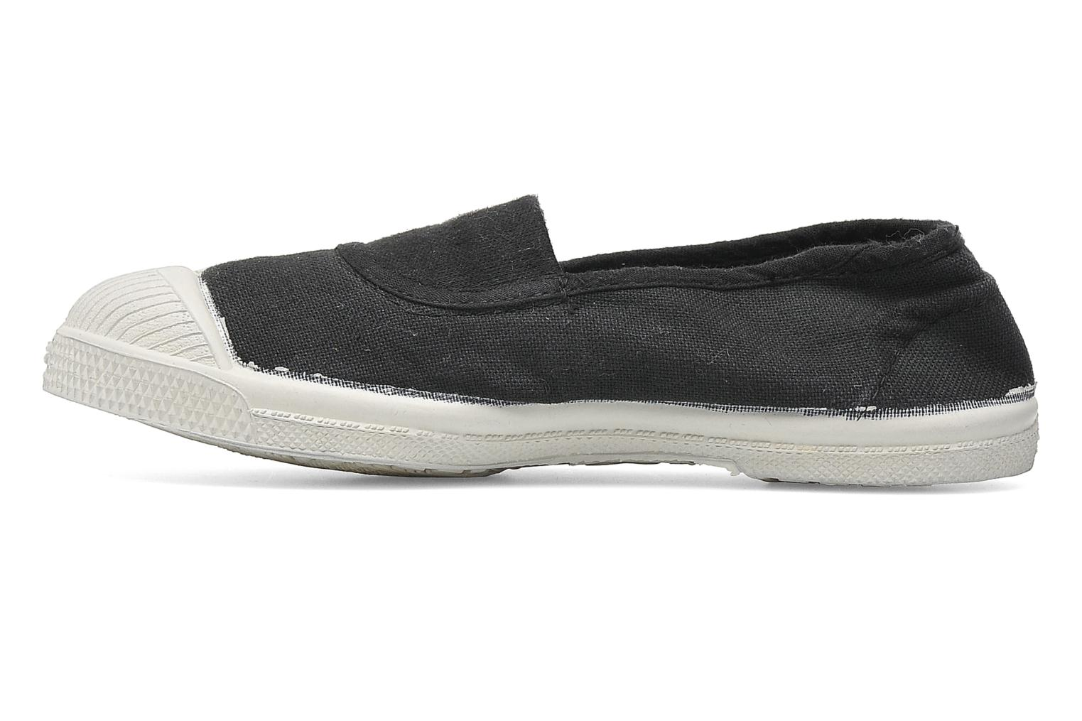 Ballet pumps Bensimon Tennis Elastique E Grey front view