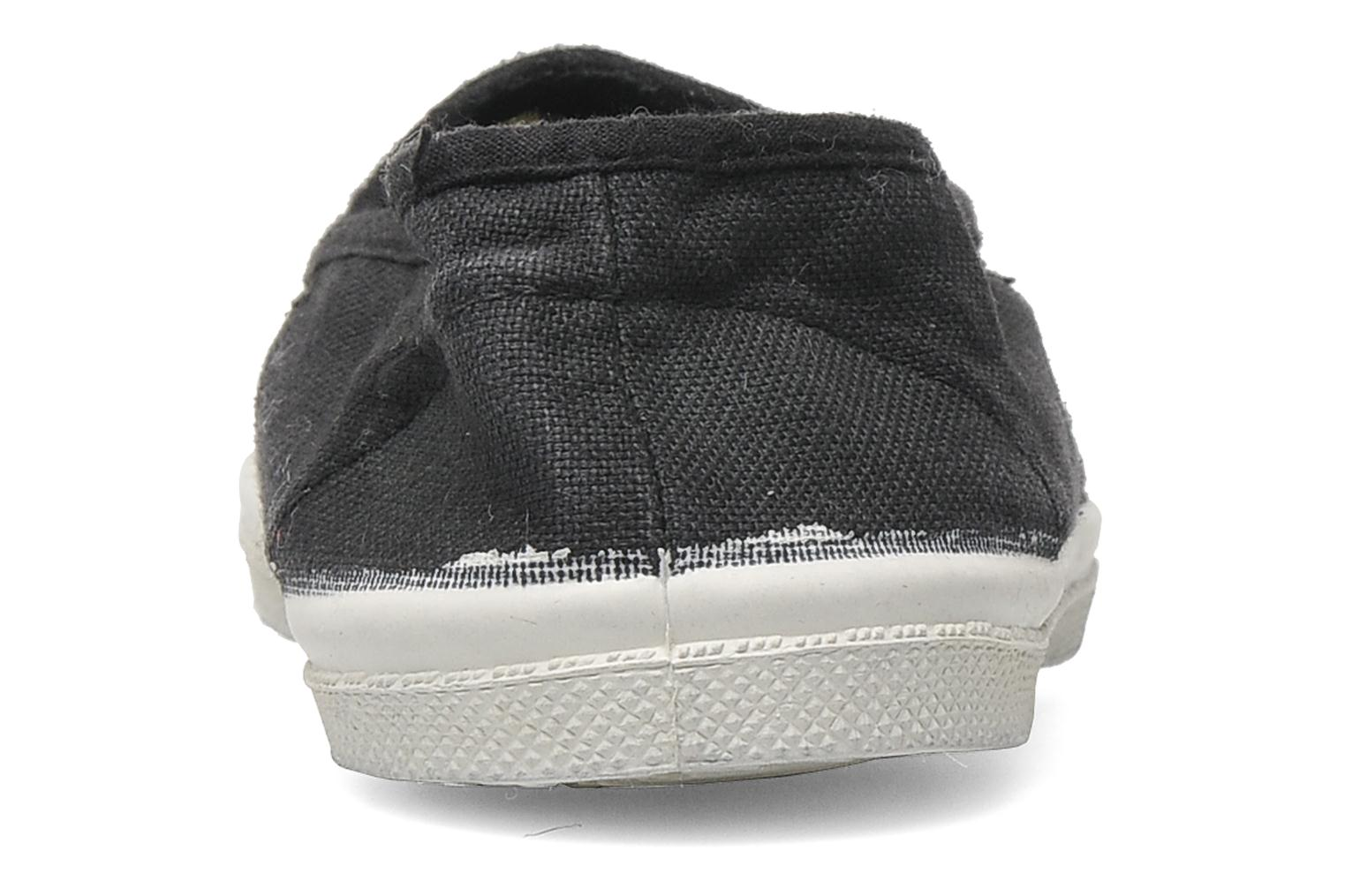 Ballet pumps Bensimon Tennis Elastique E Grey view from the right