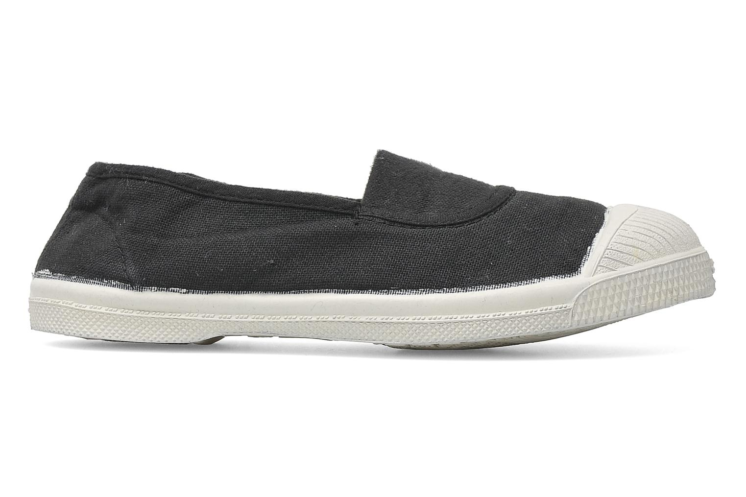 Ballet pumps Bensimon Tennis Elastique E Grey back view