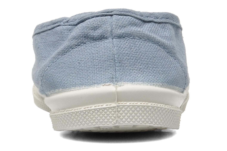 Tennis Elastique E Bleu grisé