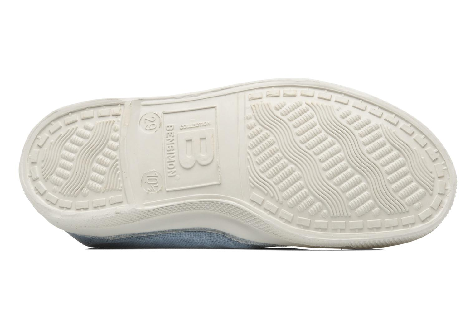 Ballet pumps Bensimon Tennis Elastique E Blue view from above