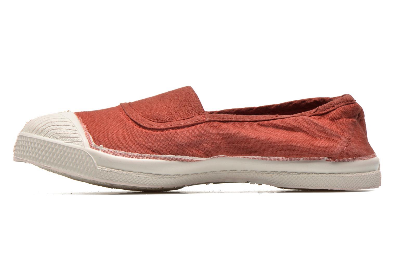 Ballet pumps Bensimon Tennis Elastique E Red front view