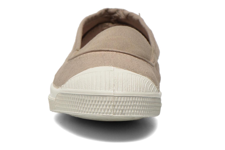 Ballerina Bensimon Tennis Elastique E Beige bild av skorna på