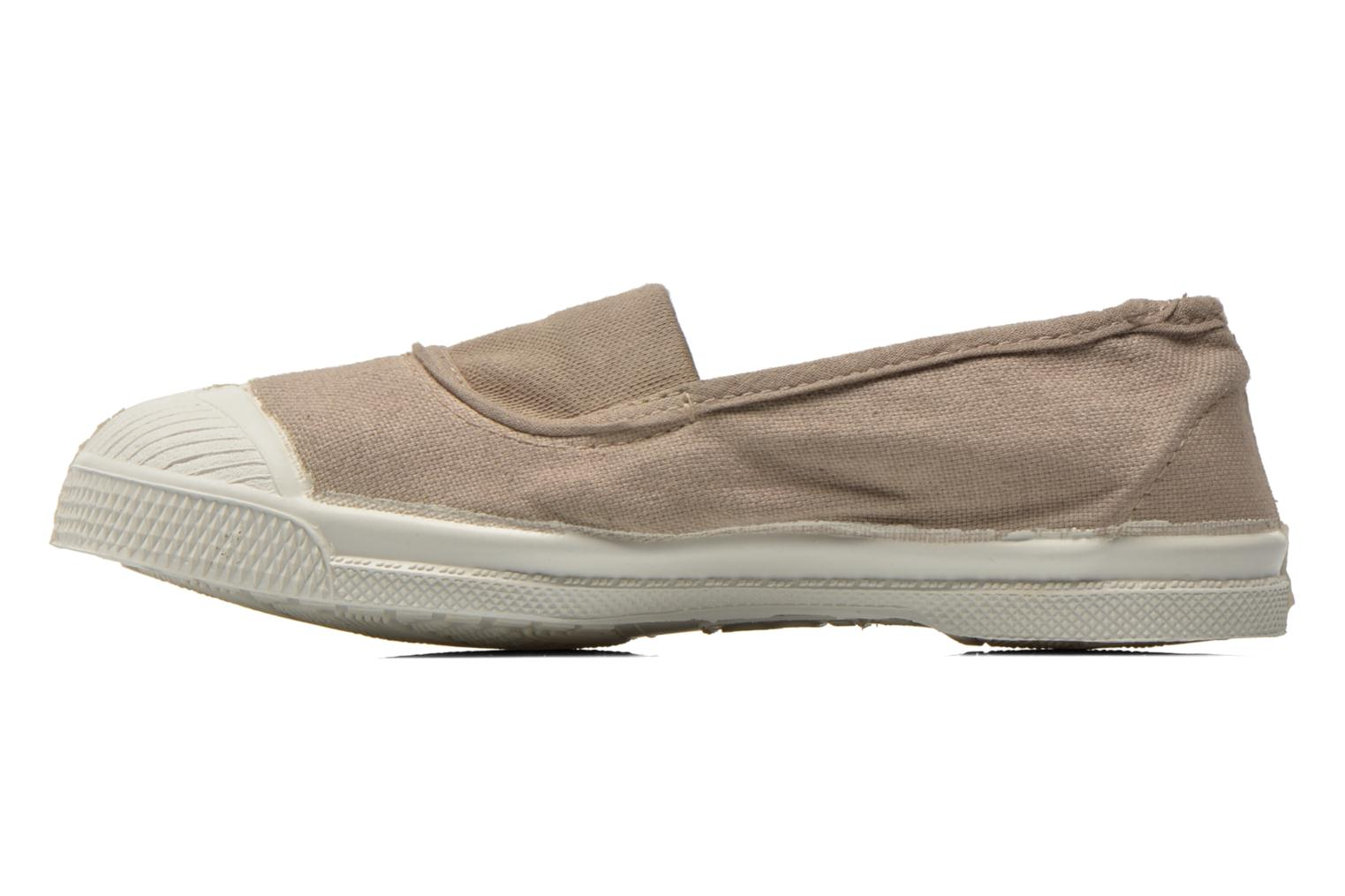 Ballet pumps Bensimon Tennis Elastique E Beige front view