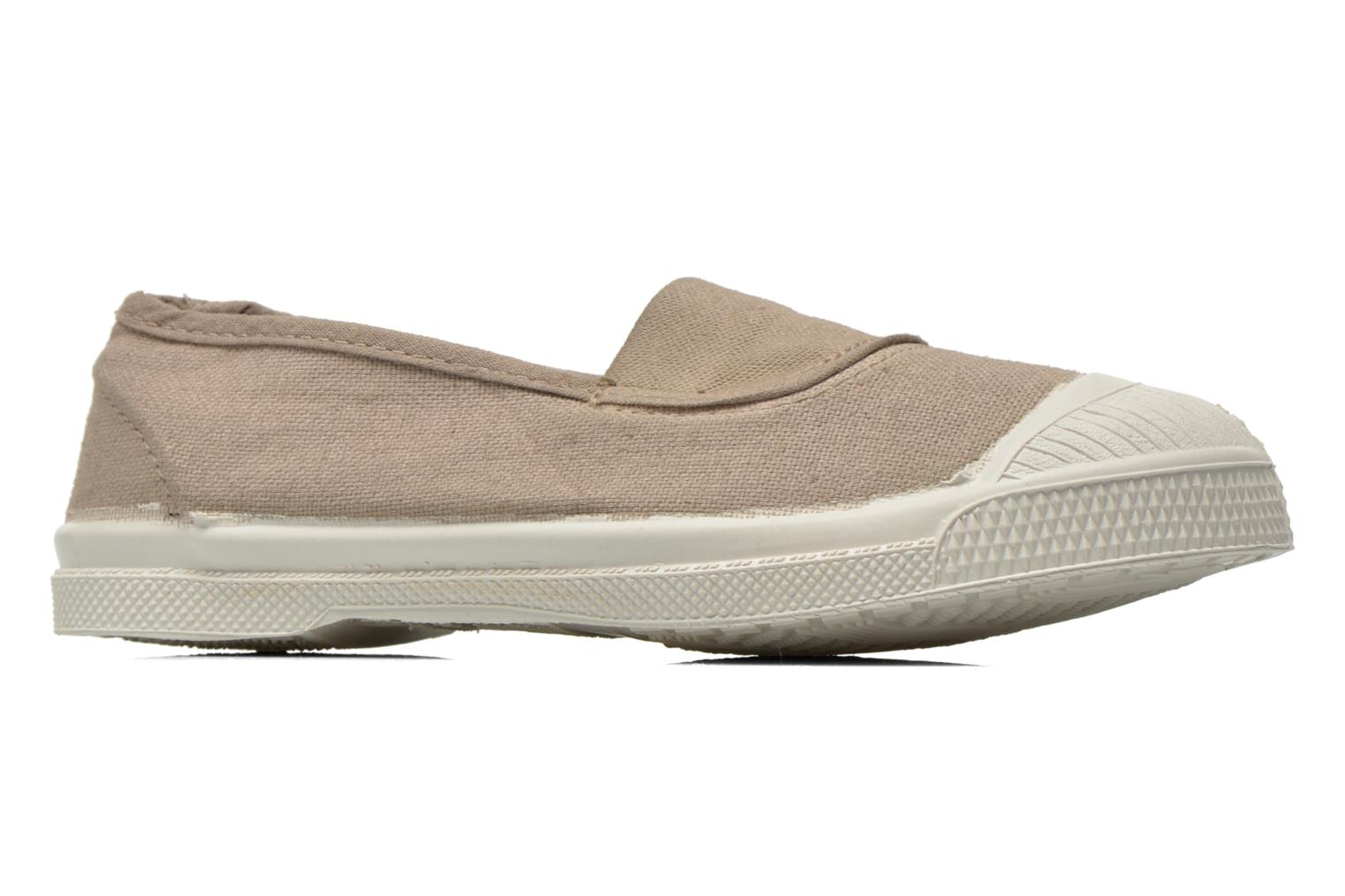 Ballet pumps Bensimon Tennis Elastique E Beige back view