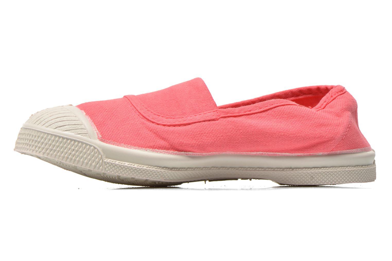 Ballet pumps Bensimon Tennis Elastique E Pink front view