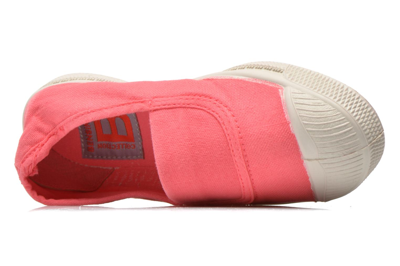 Ballerinas Bensimon Tennis Elastique E rosa ansicht von links